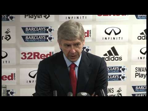 Swansea v Arsenal 0-2 | Wenger post match interview | 16th March 2013