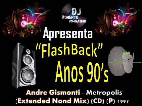 Andre Gismonti - Metropolis (Extended Nond Mix) (CD) (P) 1997