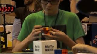 13.77 4th solve of the 11.28 Official PB Avarage