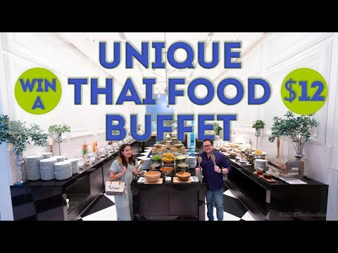 Unique Thai Food Buffet in Bangkok - Only 420 Baht ($12) - Blue Spice Restaurant