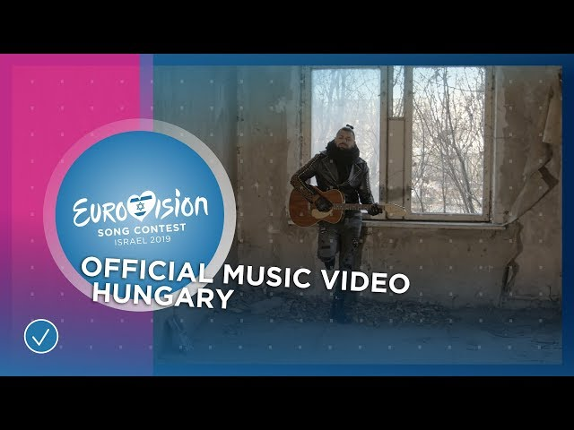 Joci Pápai - Az én apám - Hungary 🇭🇺 - Official Music Video - Eurovision 2019