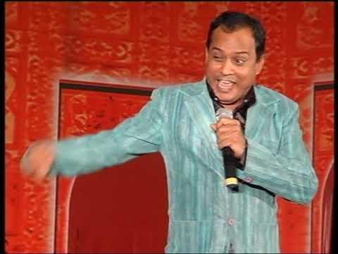 comedian artist Rajeev nigam performing at pune meet