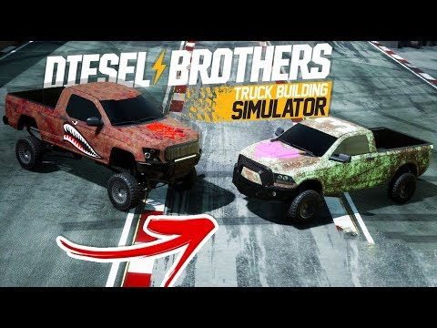 We Drag Raced With Terrible Trucks and Crashed - Diesel Brothers MULTIPLAYER Racing