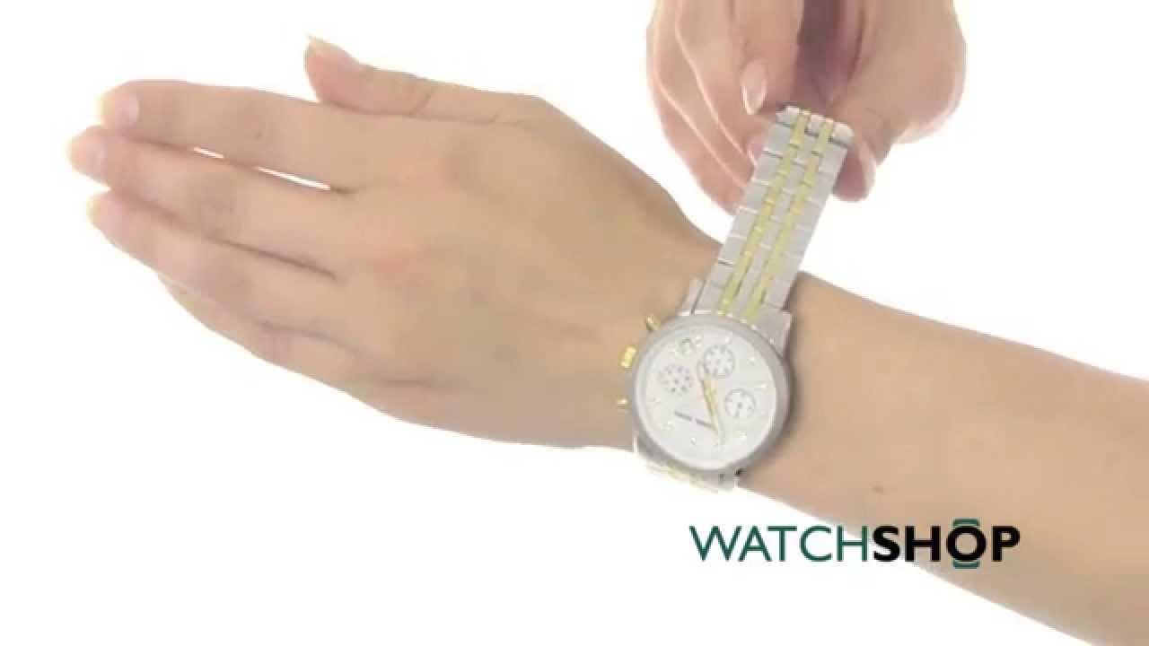 e7d51ef86 Michael Kors Ladies' Ritz Chronograph Watch (MK5057) - YouTube