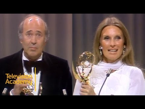 Rob Reiner and Cloris Leachman Win Best Supporting Actor and Actress Comedy  Emmys Archive 1974