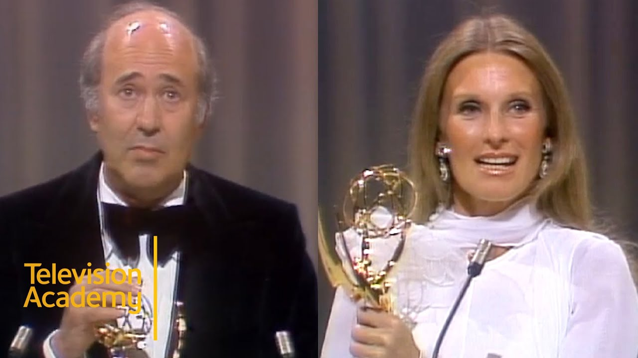 Rob Reiner and Cloris Leachman Win Best Supporting Actor and Actress  (Comedy) | Emmys Archive (1974)