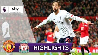 Joker Lallana rettet Liverpool-Serie | Manchester United - Liverpool 1:1 | Highlights Premier League