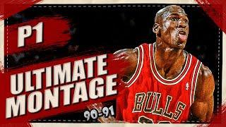 Michael Jordan Ultimate Highlights Montage 1991 Part I 1080p HD