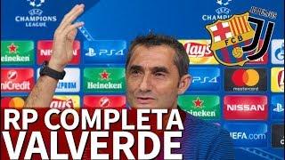 Juventus - Barcelona   Rueda de prensa previa de Valverde   Diario AS