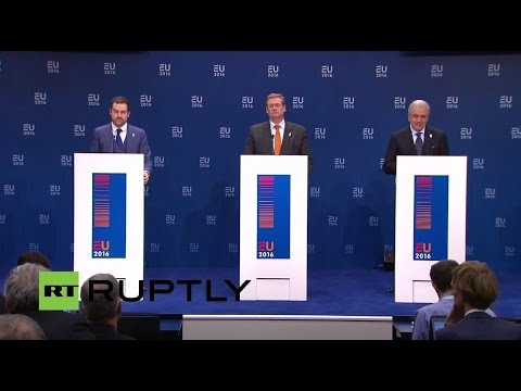 LIVE: EU Ministers of Justice and Home Affairs to discuss Schengen zone suspension
