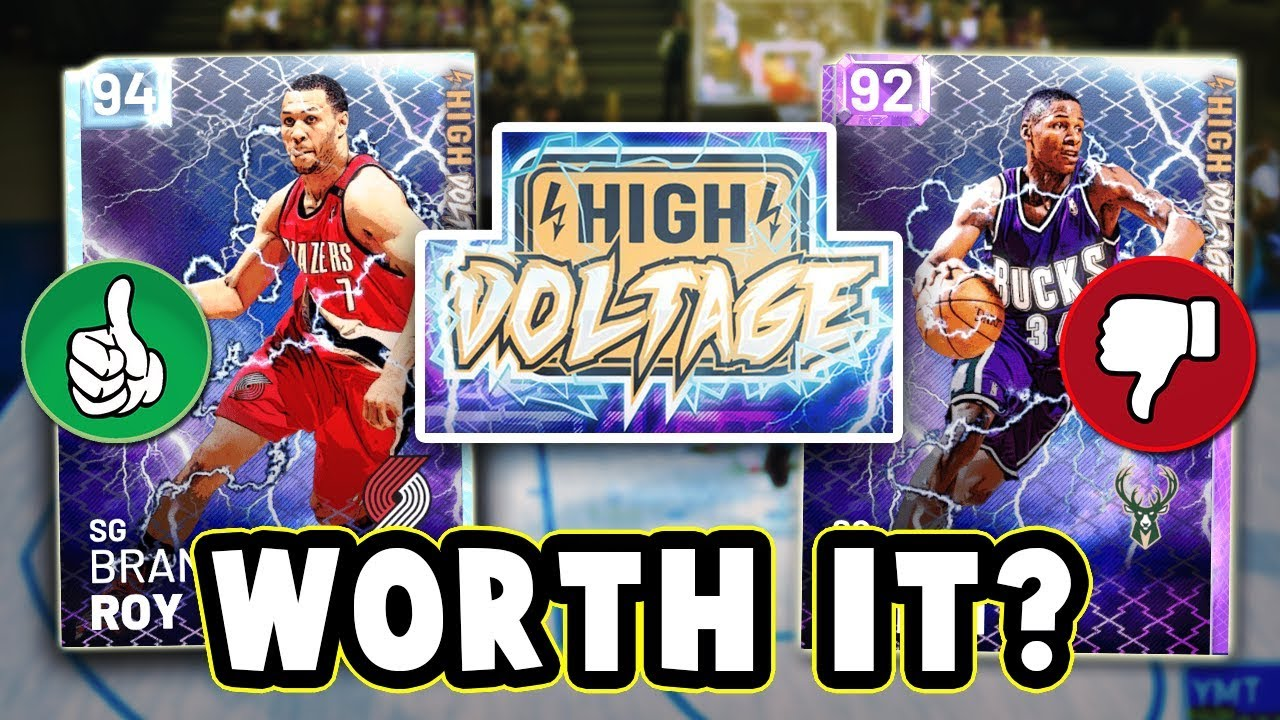 1257e402f NBA 2K19 WHICH HIGH VOLTAGE CARDS ARE WORTH BUYING!! - NBA 2K19 ...