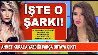 Sıla'nın Ahmet Kural için yazdığı şarkı ortaya çıktı
