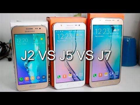 Samsung Galaxy J2 VS J5 J7 Comparison Which Is Better And Why
