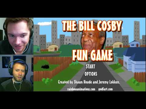 The Bill Cosby Fun Game   PUDDING MURDER!  Pwnage  Battle