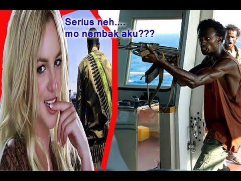 HEran.....Ternyata Perompak Ini Takut Ama Britney Pears