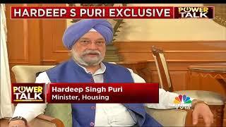Power Talk With Housing Minister Hardeep Puri