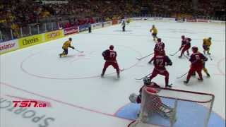 Sweden v Russia (3-2) - 2014 IIHF World Junior Championship