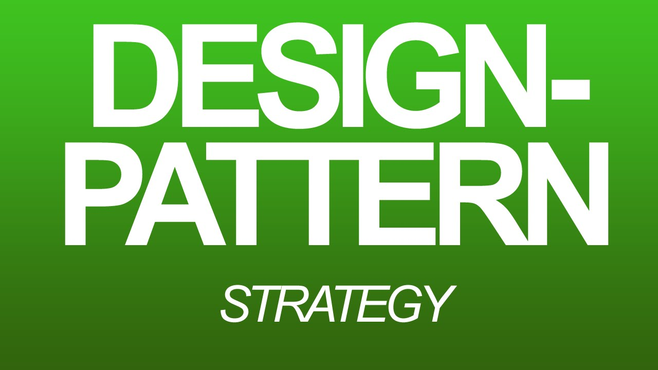 Design-Pattern [German] - Strategy - YouTube