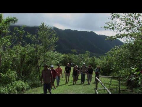 The Sierra Maestra Mountains: where the Cuban Revolution began