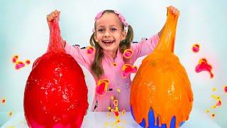 Детская песня про лизун. Песни для детей от Майи и Маши