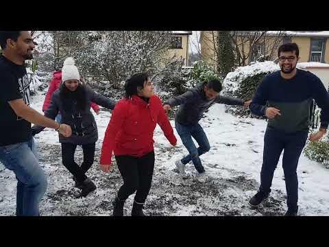 kodavas valaga dance in Ireland  Ice |