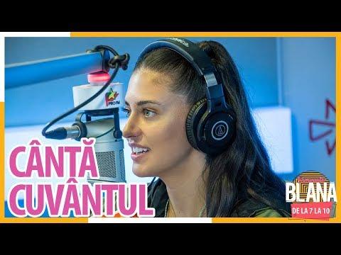 """Canta Cuvantul"" cu ANTONIA | #DimineataBlana"