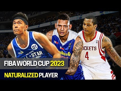 Gilas Pilipinas Naturalized Player Candidates for 2023 FIBA World Cup