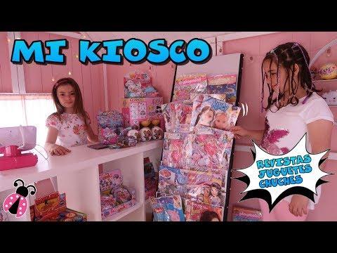 El kiosko de Arantxa - Mi tienda de revistas 🏡Los juguetes de Arantxa
