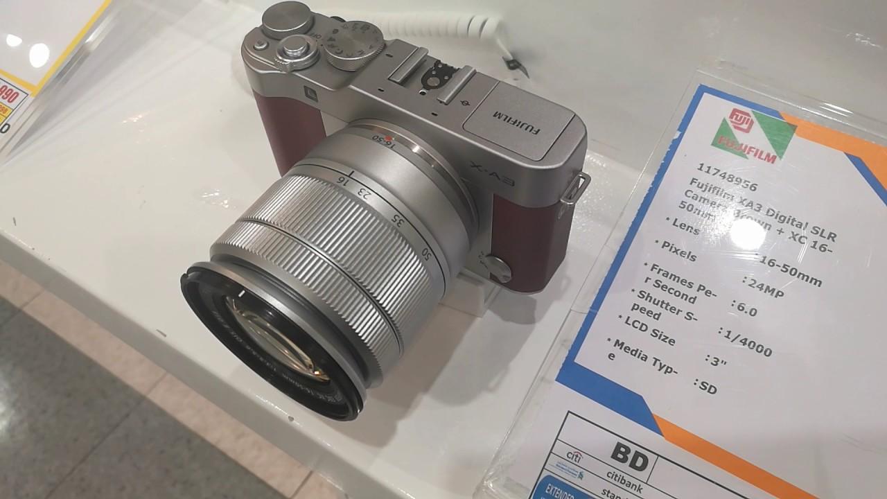 Fujifilm XA3 Digital Camera For Vbloggers
