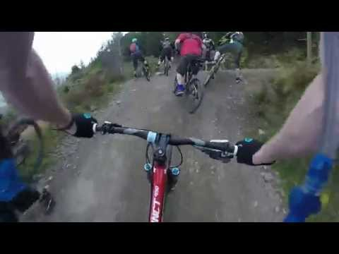 Mtb Bike Park Wales, inc Terry's belly twice