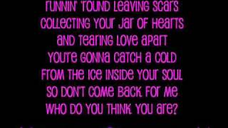 Christina Perri - Jar Of Hearts [Lyrics]