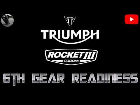 Triumph Rocket III - th Gear Readiness