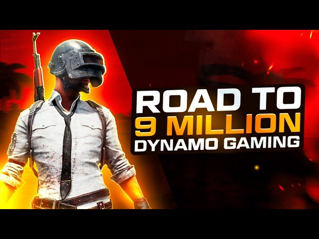 ROAD TO 9 MILLION YOUTUBE FAMILY | PUBG MOBILE LIVE WITH DYNAMO & HYDRA SQUAD