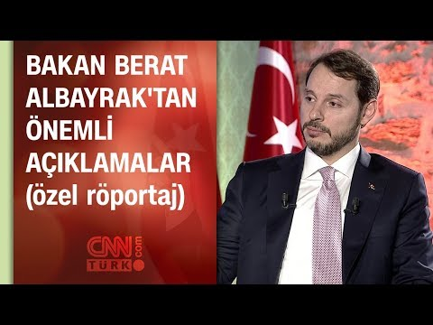 Bakan Berat Albayrak CNN TÜRK'te...