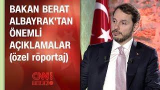 Bakan Berat Albayrak CNN TÜRK'te soruları yanıtladı