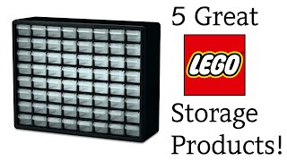 5 Great Lego Storage Products!
