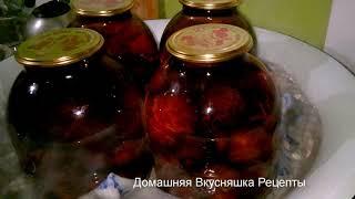 Компот из Сливы на Зиму  Домашняя Вкусняшка Рецепты