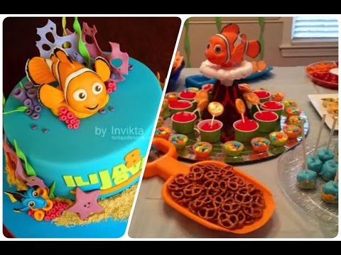 Fiesta infantil de nemo como decorar youtube for Albercas para fiestas