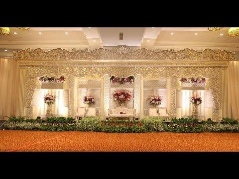 Dekiorasi Pelaminan Murah Gedung Pernikahan Resepsi Sasanakriya