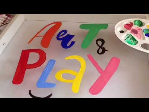 Art Light Activity Box 5-in-1. Clear Acrylic Playboard