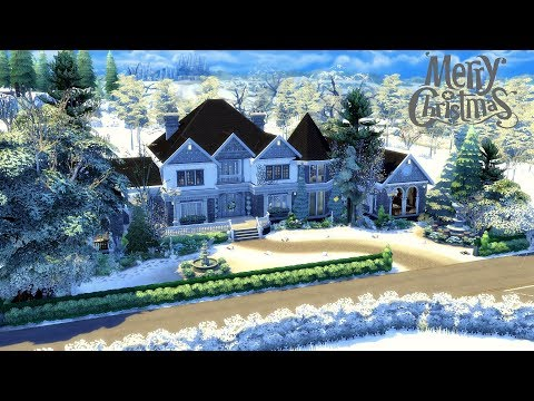 The Sims 4 || Speed Build || White Christmas