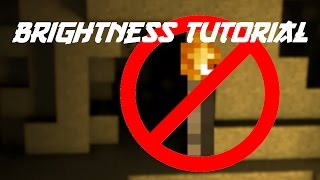 How to put your Gamma/Brightness up in Minecraft (1.8/1.7)
