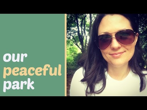 China Vlog: Peaceful Park Near Our Nanjing Apartment (CC)