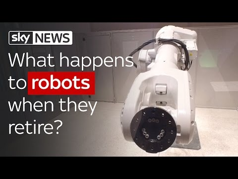 Swipe: What Happens To Industrial Robots When They Retire?