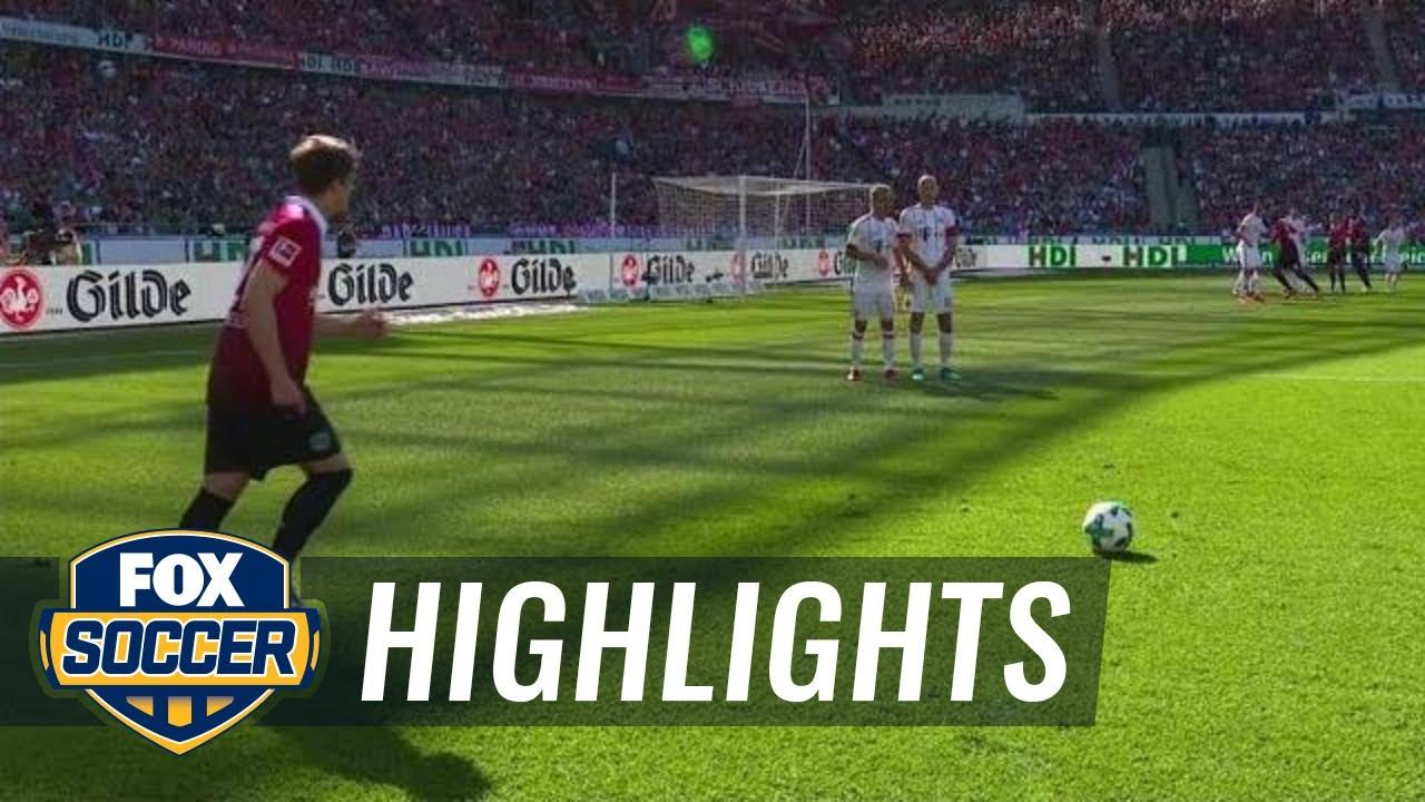 Hannover  Vs Bayern Munich   Bundesliga Highlights