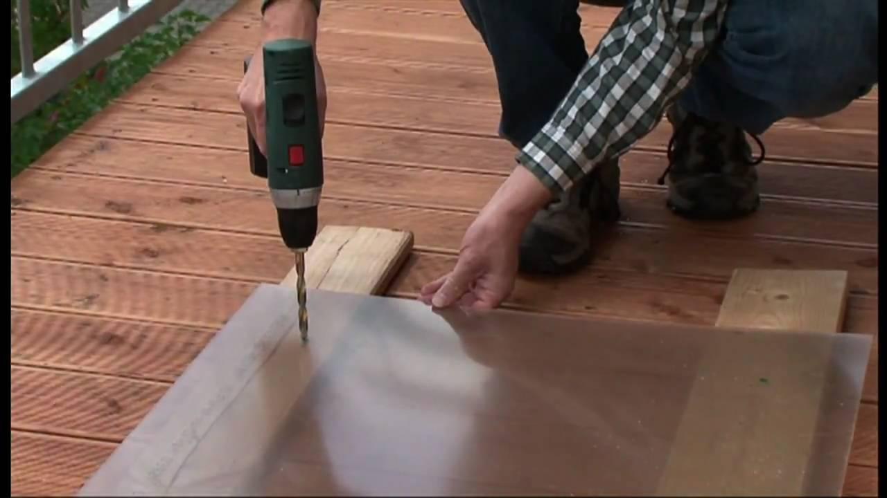 PLEXIGLAS TV How to Balkonbrüstung selbst bauen