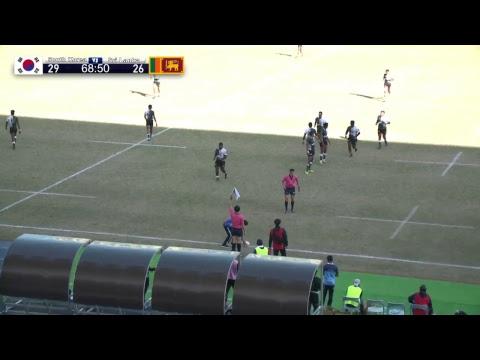 Asia Rugby U19 Championship  Live