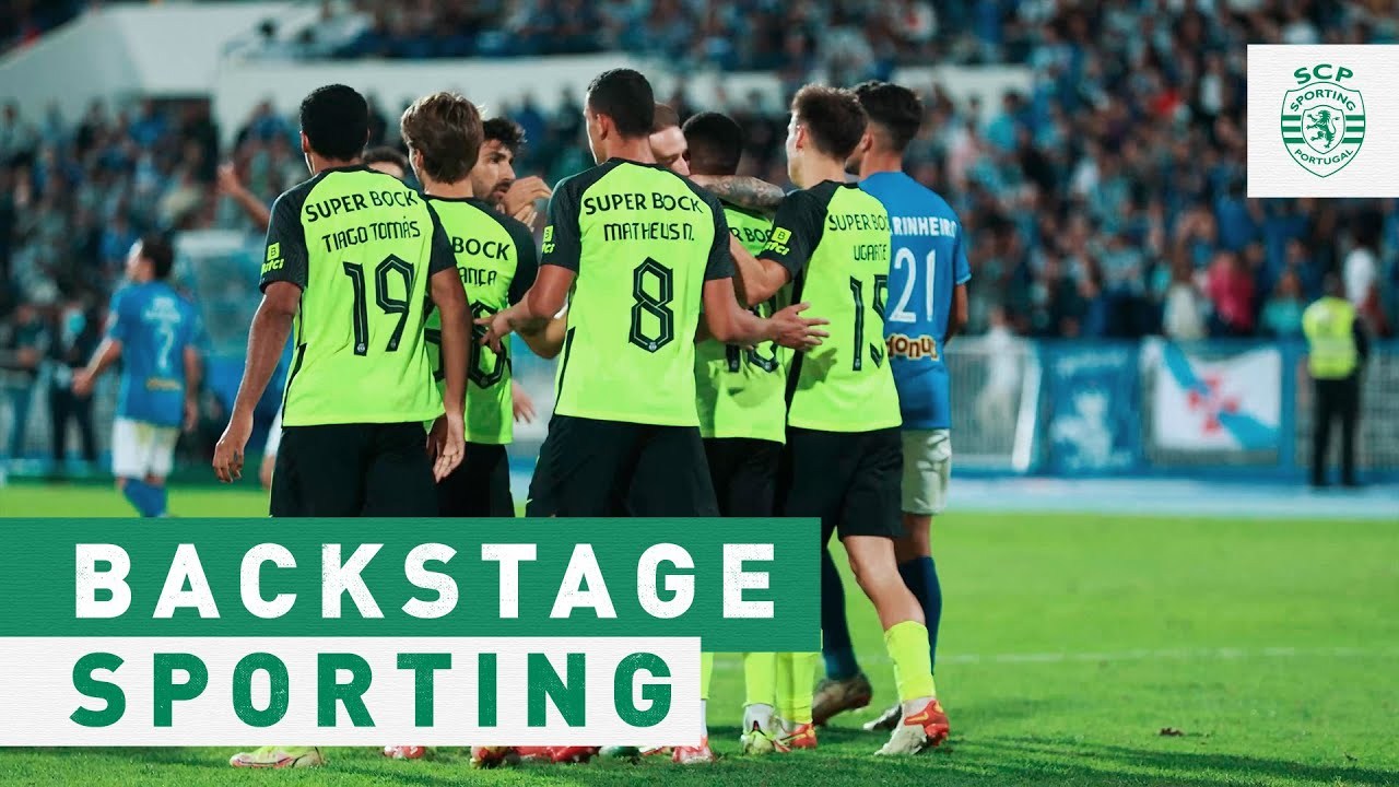 """BACKSTAGE SPORTING   CF """"Os Belenenses"""" x Sporting CP"""