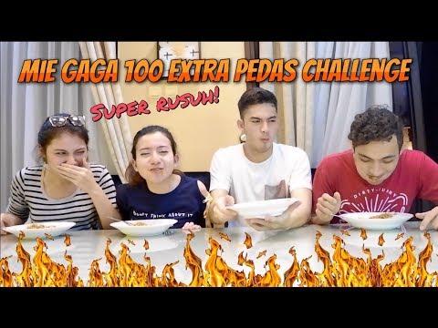 Mie Gaga 100 Extra Pedas Challenge with Rizky Nazar