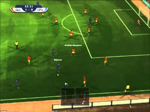 PES 2012 | Guinea - Cape Verde | Africa Cup of Nations 2013 Group D Matchday 2